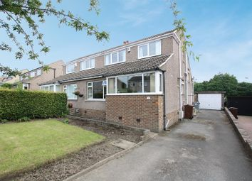 Thumbnail 3 bed semi-detached house for sale in Greenville Drive, Low Moor, Bradford