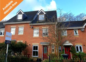 Thumbnail 3 bed town house to rent in Rowan Close, Whiteley, Fareham