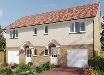 "Thumbnail 3 bed semi-detached house for sale in ""The Newton"" at Milnathort, Kinross"