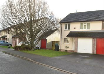 Thumbnail 3 bed semi-detached house to rent in Greenmeadow Drive, Barnstaple
