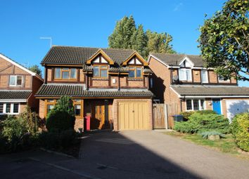 Thumbnail 5 bed detached house for sale in Robin Close, Stanstead Abbotts, Ware
