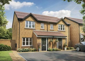 Thumbnail 3 bedroom semi-detached house for sale in Grasmere Avenue, Farington, Leyland, Lancashire