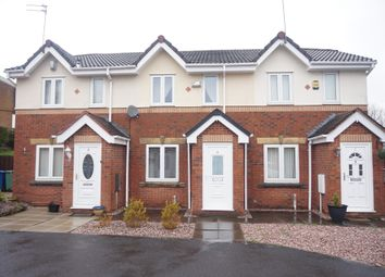Thumbnail 2 bed terraced house for sale in Brightwater Close, Whitefield, Manchester