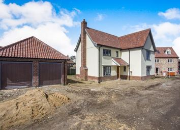 Thumbnail 4 bed detached house for sale in East Harling, Norwich, Norfolk