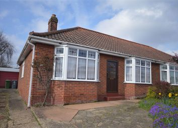 Thumbnail 3 bed semi-detached bungalow for sale in City View Road, Hellesdon, Norwich