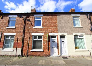 Thumbnail 2 bed terraced house to rent in Brighton Road, Darlington