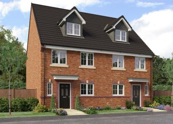 "Thumbnail 4 bed semi-detached house for sale in ""Auden"" at Sophia Drive, Great Sankey, Warrington"