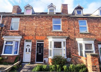 Thumbnail 3 bed terraced house for sale in Turner Street, Lincoln
