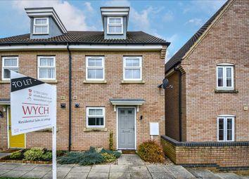 3 bed semi-detached house to rent in Burywell Road, Wellingborough NN8