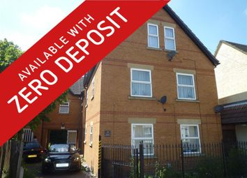 Thumbnail 1 bed flat to rent in 33A Jubilee Street, Woodston, Peterborough