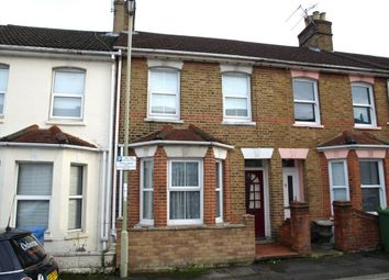 Thumbnail 2 bed terraced house to rent in Cavendish Road, Aldershot