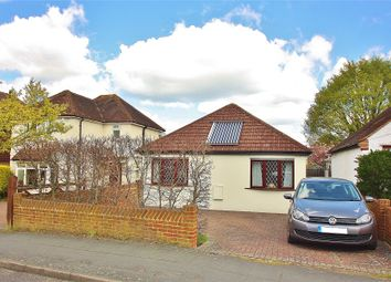Thumbnail 3 bed detached bungalow for sale in Victoria Road, Knaphill, Woking