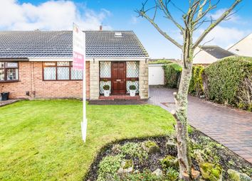 Thumbnail 3 bed semi-detached bungalow for sale in Witham Grove, Hartlepool