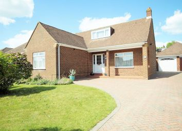 Thumbnail 3 bed detached bungalow for sale in The Spinney, Down End, Fareham