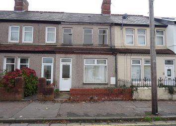 Thumbnail 3 bed terraced house for sale in Clive Road, Canton, Cardiff.