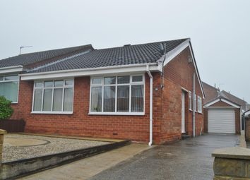 Thumbnail 2 bed semi-detached bungalow for sale in Belgrave Drive, Normanby, Middlesbrough
