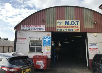 Thumbnail Commercial property for sale in Golden Hillock Road, Sparkbrook, Birmingham