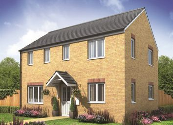 "Thumbnail 3 bed semi-detached house for sale in ""The Clayton Corner"" at Churchfields, Hethersett, Norwich"