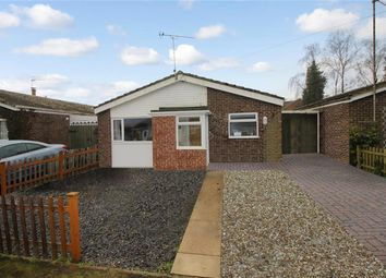 Thumbnail 3 bed detached bungalow for sale in St. Clements Way, Brundall, Norwich