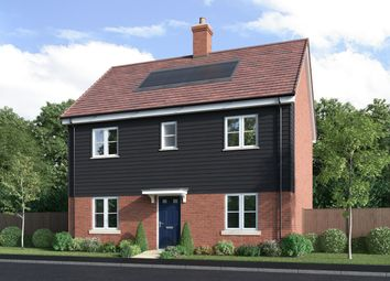 Thumbnail 4 bedroom detached house for sale in Off Winchester Road, Boorley Green