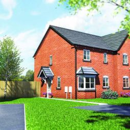 Thumbnail 3 bed semi-detached house for sale in Plot 8, Old Hall Fields, Wellington, Telford
