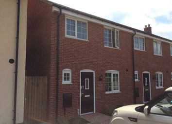 Thumbnail 3 bed end terrace house to rent in Sansome Drive, Hinckley