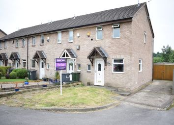 Thumbnail 2 bedroom end terrace house for sale in Stockdale Close, Nottingham