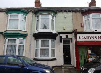 Thumbnail 4 bedroom terraced house to rent in Crescent Road, Middlesbrough