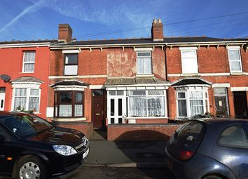 Thumbnail 3 bed terraced house for sale in Bilston Road, Wolverhampton, West Midlands