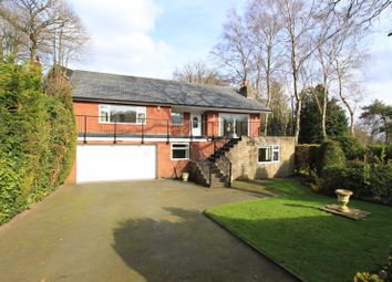 Thumbnail 4 bed detached bungalow for sale in Manor Road, Baldwins Gate, Newcastle-Under-Lyme