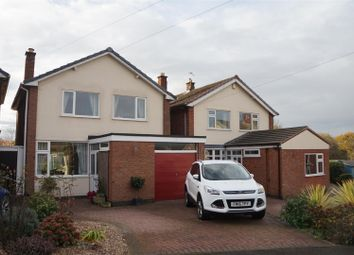 Thumbnail 3 bed detached house for sale in Plowman Close, Glenfield, Leicester