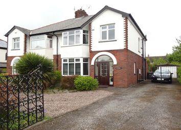 Thumbnail 3 bed semi-detached house for sale in Blackpool Road, Ashton-On-Ribble, Preston