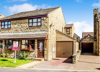 Thumbnail 3 bed semi-detached house for sale in Pack Horse Close, Clayton West, Huddersfield