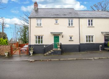 Thumbnail 3 bed semi-detached house for sale in Maes Y Llarwydd, Abergavenny, Monmouthshire