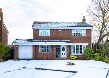 Thumbnail 4 bed detached house for sale in Marbury Grove, Standish, Wigan