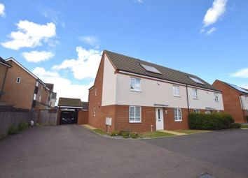 Thumbnail 4 bed semi-detached house for sale in Nairn Grove, Broughton, Milton Keynes