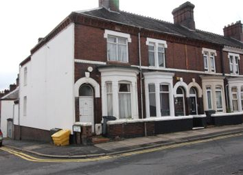 Thumbnail 3 bed end terrace house to rent in St Johns Street, Hanley, Stoke On Trent