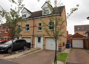 Thumbnail 3 bed semi-detached house for sale in Ling Drive, Gainsborough