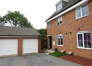 Thumbnail 4 bed semi-detached house for sale in Kelburn Road, Orton Northgate, Peterborough
