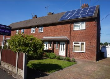 Thumbnail 2 bed town house for sale in Robina Drive, Stoke-On-Trent
