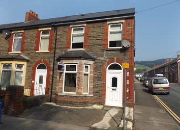 Thumbnail 3 bed end terrace house for sale in Newport Road, Trethomas, Caerphilly