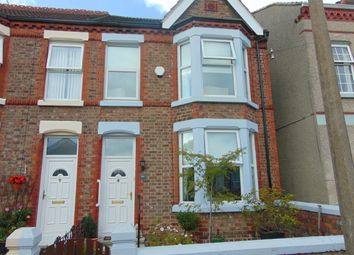 Thumbnail 3 bed end terrace house to rent in Trafalgar Drive, Bebington, Wirral, Merseyside