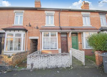 Thumbnail 3 bed terraced house for sale in Solihull Road, Sparkhill, Birmingham