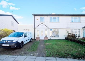 Thumbnail 3 bed semi-detached house for sale in Gosling Close, Greenford