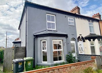 Thumbnail 2 bed terraced house for sale in Anson Road, Great Yarmouth