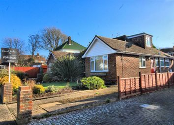 Thumbnail 3 bedroom semi-detached bungalow for sale in Richington Way, Seaford, East Sussex