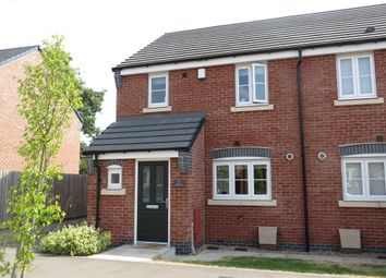 Thumbnail 3 bed semi-detached house for sale in Faray Drive, Hinckley