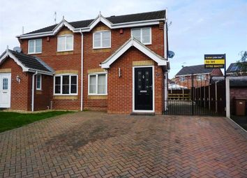 Thumbnail 3 bed semi-detached house to rent in Milan Grove, Longton, Stoke-On-Trent