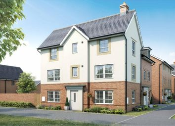 """Thumbnail 3 bed semi-detached house for sale in """"Brentford"""" at Broughton Crossing, Broughton, Aylesbury"""