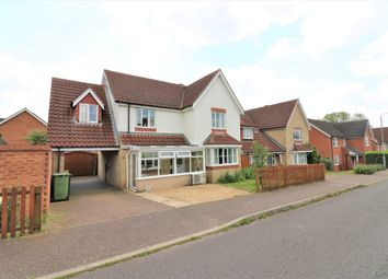 Thumbnail 5 bed detached house for sale in Dunlop Road, Dereham